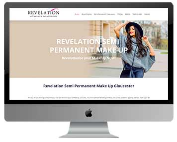 beauty salon web design