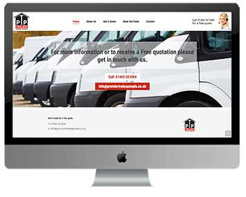 tredesman website design