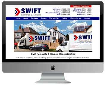house removals website design