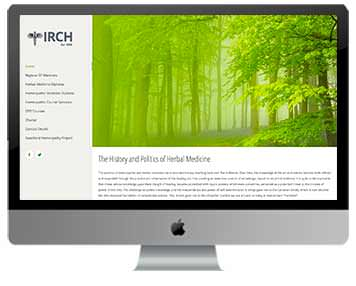 irch website project