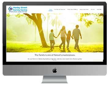 harley street london web design